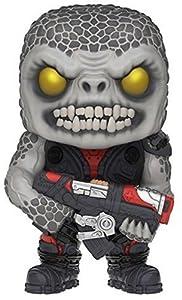 Funko- Gears of War Locust Drone Figura de Vinilo, colección de Pop, seria GOW, Color Negro, Gris (10300)