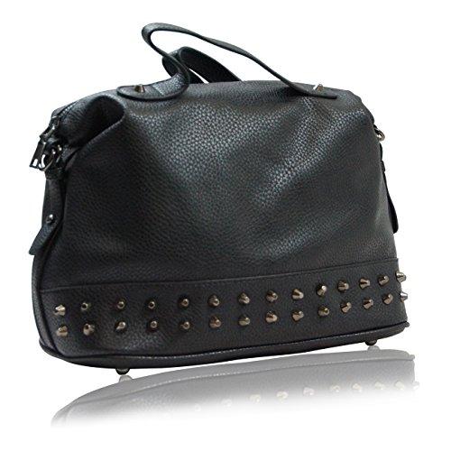 Handbag Krazy, Borsa a spalla donna Raven Black