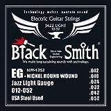 Black Smith 12-52 Jeu de cordes pour Guitare électrique