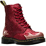 Dr. Martens 1460 Pascal Flame Damen Stiefel Rot