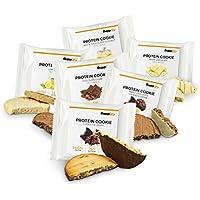 Protein Snack Cookie Protein Riegel Mix Box von Supplify mit Whey Pulver – Proteinriegel als Mahlzeitenersatz für Protein Shake – Energieriegel für Muskelaufbau und Abnehmen