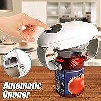 Helmay   Apriscatole elettrico automatico in plastica  funzionamento a batteria  per aprire utensili da cucina