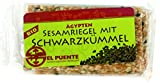 El Puente Sesamriegel mit Schwarzkümmel, 12er Pack (12 x 27 g)