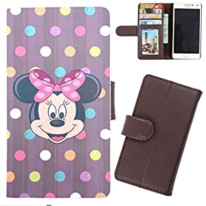 DooDa - For Samsung Galaxy Mega 6.3 PU Leather Designer Fashionable Fancy Wallet Flip Case Cover Pouch With Card, ID & Cash Slots And Smooth Inner Velvet With Strong Magnetic Lock