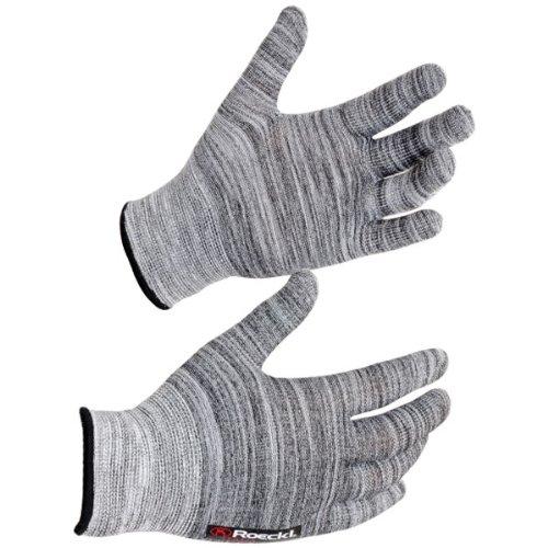 Roeckl Kalamaris Winter Unterziehhandschuh/Handschuhe grau: Größe: L (9)