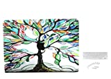 #8: Brain Freezer Leaf Printed Design Hard Laptop Case For Macbook Air 13 inch With keyboard Cover & Dust Plugs