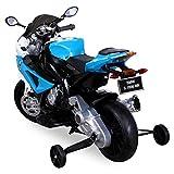 Actionbikes Kindermotorrad BMW S 1000 RR in blau - 3