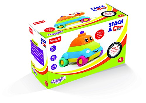 [Sponsored]Giggles Stack A Car, Multi Color