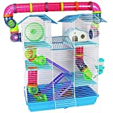 Pet Ting Jasmine Hamster Cage Large with Running Tubes Gerbil Syrian Dwarf Hamsters