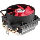 Xilence AM2.Q CPU-Kühler, PWM bis zu AMD Phenom X4 9650, AMD Phenom X4 9100e, schwarz mit rotem Lüfter