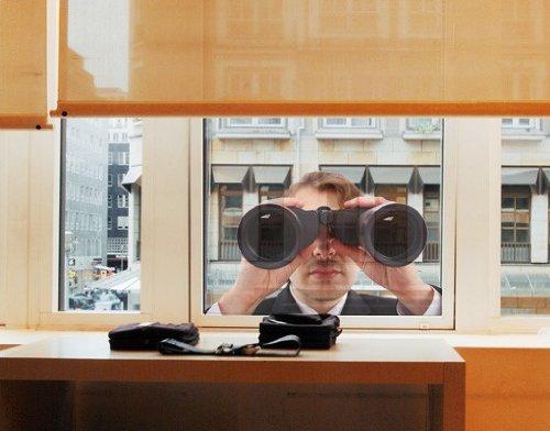 Fenstersticker No. 247Secret Agent Fensterfolie Fenster Tattoo Glas Aufkleber Fenster Kunst Fenster DÃ © cor Fensterdekoration Fenster Bild, Maße: 31cm x 50cm (Agent-aufkleber)