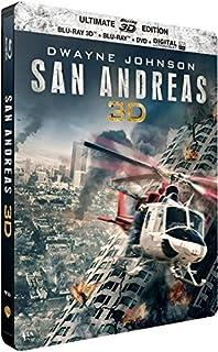 San Andreas [édition steelbook Blu-ray 3D, Blu-ray, DVD] (B012OC0WR2) | Amazon price tracker / tracking, Amazon price history charts, Amazon price watches, Amazon price drop alerts