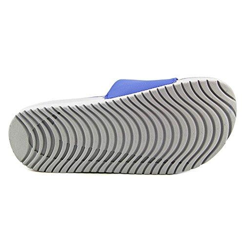 Nike Kawa Slide, Open-back mixte enfant Bleu Blanc