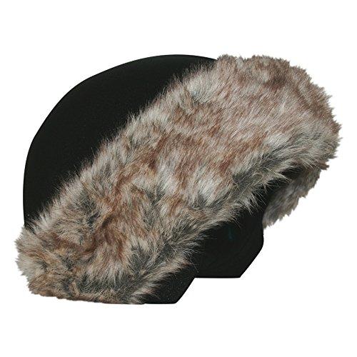 Coolcasc Fourrure Brun couvre-casque