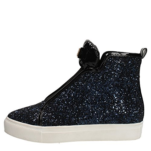 Laura Biagiotti 1850 Sneakers Donna Glitter BLU BLU 36