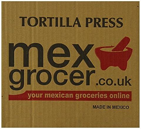 MexGrocer Tortilla Press Silver 19 cm