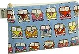 Vagabond Kosmetiktasche, Campingbus-Design, Wachstuch, groß