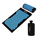 Best Back Pain Acupuncture Mats - Acupressure Mat & Pillow Set MeeQee Acupuncture Massage Review