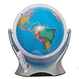 Jopjdpdsf Globo Terraqueo,Globo Parlante con Luz Punto De Voz Lectura De Globo Decoración Niños Chinos E Ingleses Regalo De Educación Temprana
