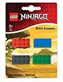 LEGO 51632 - Radierer Baustein Ninjago, 4 Stück