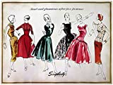 Wrights Simplicity Vintage Poster 18 Inch X 24 Inch - After Five Fashion (Pack Of 3)