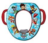 Cushioned Potty or Toilet Seat For Kids (With Handle, Assorted Color)