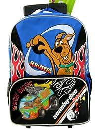 Scooby Doo ~ Racing en el misterio máquina ~ tamaño completo rodando mochila grande ...