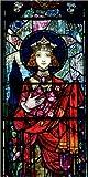 Poster 90 x 180 cm: St. Elizabeth of Hungary de Harry Clarke/Bridgeman Images - Reproduction Haut de Gamme, Nouveau Poster