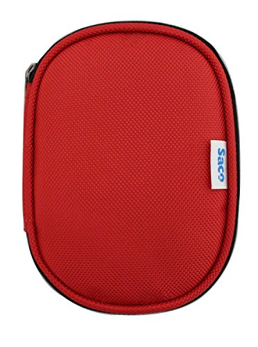 Saco Shock Proof External Hard Disk Case for Sony HD-SL1 Ultra-Slim Lightweight 1TB External Hard Drive - Red  available at amazon for Rs.180