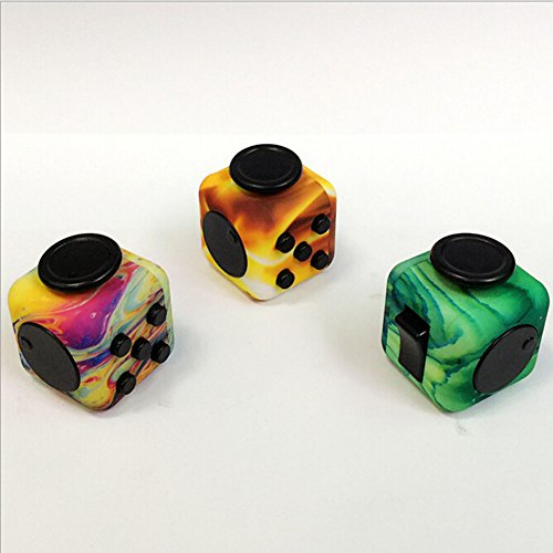 Wangyue NEW Camouflage Series of Fidget Toy Fidget Cube Stress Reducer Relieves Stress And Anxiety Toy -