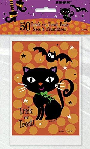 Unique Party Supplies Spooky Stiefel behandeln Taschen, 50Stück (Kinder Behandeln Halloween Tasche, Für Ideen)