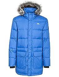 Trespass Baird abajo chaqueta para hombre, hombre, color azul, tamaño medium