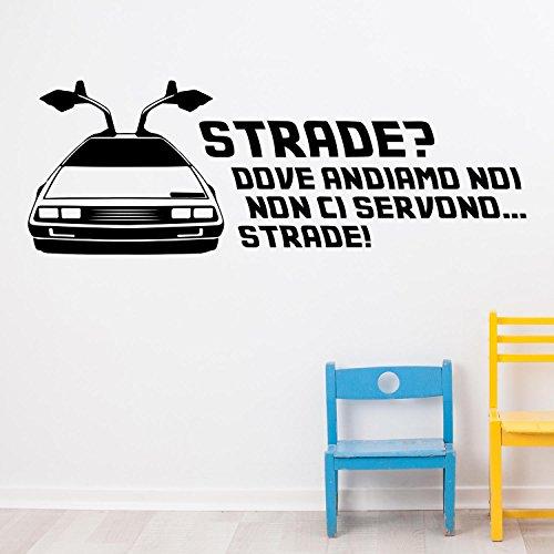adesiviamor-back-to-the-future-dove-andiamo-noi-non-ci-servono-strade-delorean-wall-sticker-adesivo-
