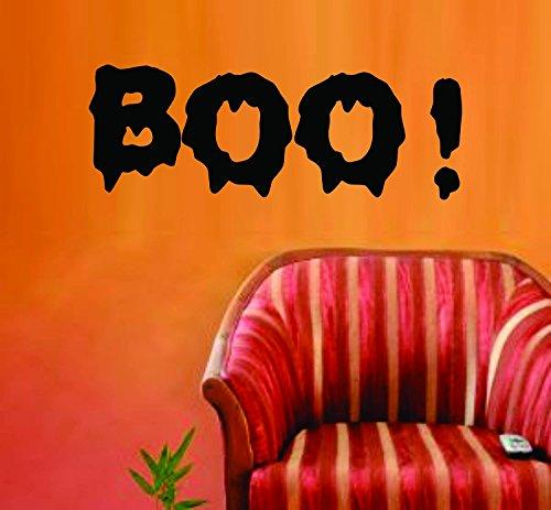 wandaufkleber 3d schlafzimmer Boo Halloween Wall Vinyl Decal Sticker Art Graphic Sticker Vampire True Blood