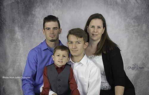KateHome PHOTOSTUDIOS 3x3m Grau Fotografie Hintergrund Portrait Fotohintergrund Mikrofaser Klappbar Hintergrund Fotostudio Requisiten