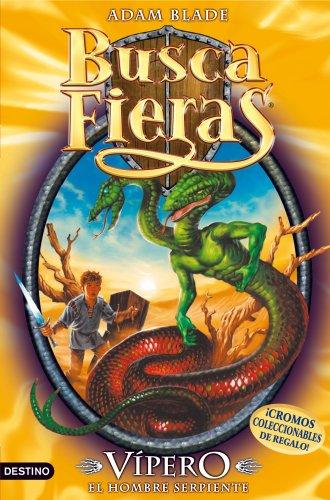 Portada del libro Vípero, el Hombre serpiente: Buscafieras 10