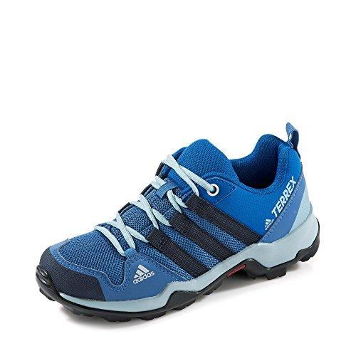 adidas Unisex-Kinder Terrex AX2R Trekking-& Wanderhalbschuhe, Blau (Azretr/Maosno/Gricen 000), 38 EU