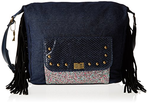 Lollipops Ytak 22198, Borsa a spalla donna , Blu (Blu (Blue)), Taille Unique