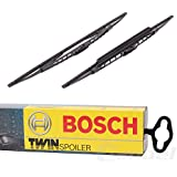 Bosch 3397118404 Twin Spoilers 532S - Limpiaparabrisas (2 unidades, 530 mm y 500 mm)