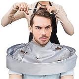 wuayi DIY Haarschneideumhang Umhang Umhang Umhang Heimsalon Friseur Friseur Schürze Tuch Stylist Friseur Zubehör 60 cm