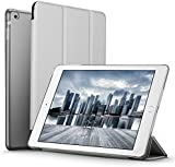 iPad Mini Case, iPad Mini 2 / Mini 3 Case, ESR® iPad Mini Smart Case Cover [Synthetic Leather] and Translucent Frosted Back Magnetic Cover with Sleep / Wake Function [Ultra Slim] [Light Weight] for Apple iPad Mini 1/2/3 (Space Gray)