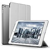 iPad Mini Hülle, ESR® Yippee Series Auto Aufwachen / Schlaf Funktion PU Ledertasche mit Durchschaubar Rückseite Abdeckung Schutzhülle für iPad mini 3/2/1 (Raum Grau)