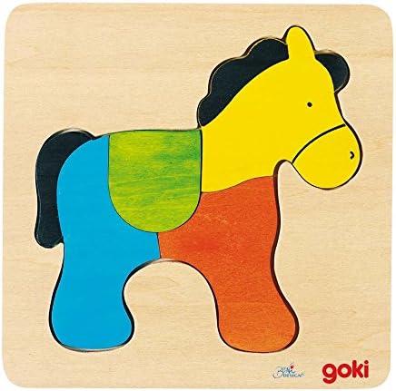 Illuminez les les les voeux du Nouvel An en Irak. Goki Jouetprive-Puzzle Cheval 2   Bradées  a566d8