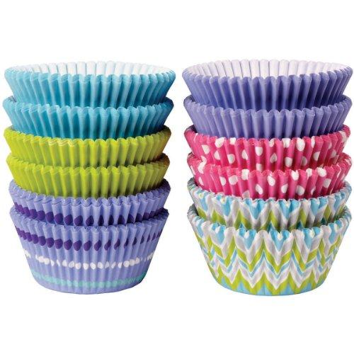 Wilton 415-8123 - Cápsulas para hornear color pastel, 300 unidades width=