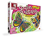 Toykraft 39594 Sequin Pictures - Butterf...