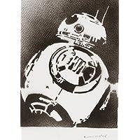 Póster Droide BB-8 STAR WARS Grafiti Hecho A Mano - Handmade Street Art - Artwork
