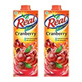 #6: Real Fruit Power Juice, Cranberry, 1L (Pack of 2)