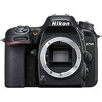 Nikon D7500 Body Fotocamera Reflex Digitale, 20,9 Megapixel, Wi-Fi, Bluetooth, SD 8GB 300x Premium Lexar, Nero [Nital Card: 4 Anni di Garanzia]