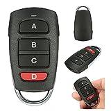 4 Tasten Garagentor Fernbedienung Kopiertyp Universal Cloning Fernbedienung Türöffner Schlüssel für Auto Garage Tür Elektrisches Tor