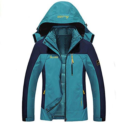 Softshelljacke Damen 3 in 1 Outdoor Jacke Wander Funktionsjacke Winter Warm Doppeljacke Wa